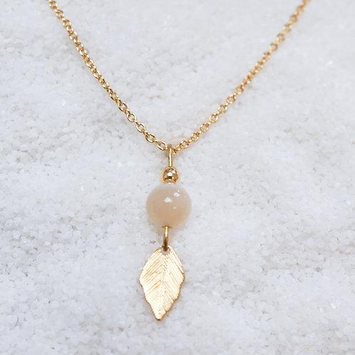 Halskette Leaf