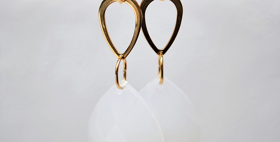 Ohrringe gold & glamour