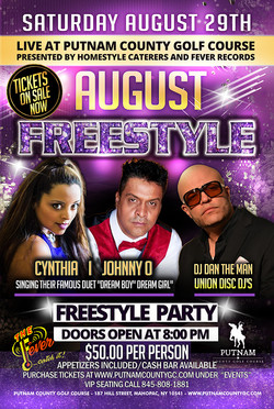Freestyle Concert Poster
