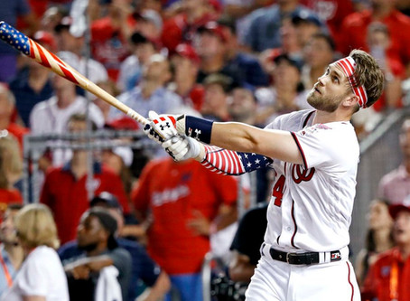 Enter to WIN the last model of the famous bat that Bryce Harper used to win the 2018 Home Run Derby.