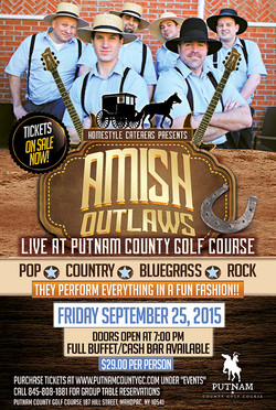 Amish Outlaws Concert Poster