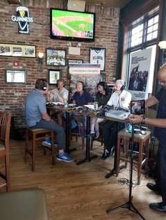 The Museum of Sports and 610 ESPN LIVE Broadcast at The Green Parrot
