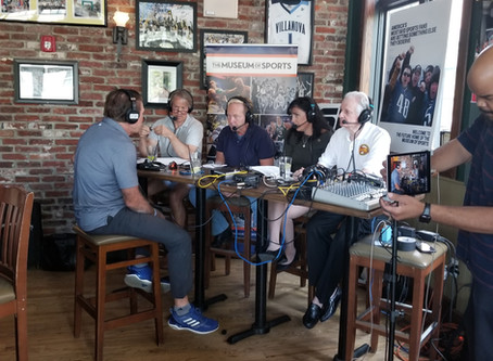 The Museum of Sports LIVE Broadcast on 610 ESPN from The Green Parrot in Newtown, PA