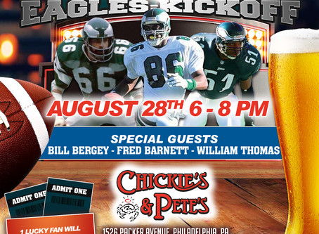 The Museum of Sports Celebrates Eagles-Kickoff!