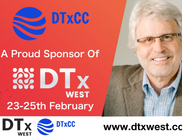DTxCC is a Proud Sponsor of DTx West!