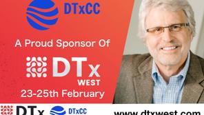 DTxCC is a Proud Sponsor of DTx West!