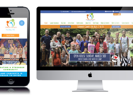 New Year, New Website for Camp Concepts' Day Camps