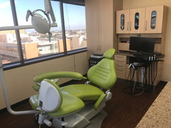 Dental Chair and 12 Oclock