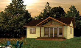 Chase   868 Sqft 2 bedroom - 32' Wide x 33' Deep