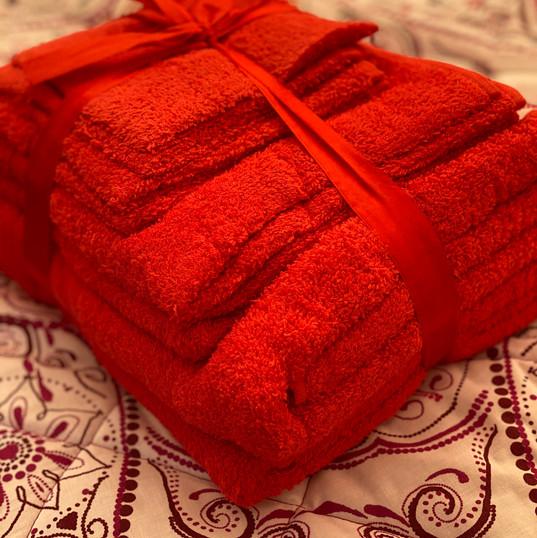 Baby Belle towel dry