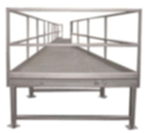 FPEC Corp. Food Processing Equipment Work Stand