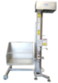 FPEC Corp. Food Processing Equipment Specialty Cart Lift Dumper