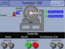 FPEC Corp. Food Processing Equipment Vacuum Tumbler Automated Touch Screen Control Panel