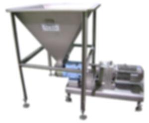 FPEC Corp. Food Processing Equipment Vacuum Pump Hopper