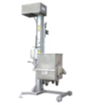 FPEC Corp. Food Processing Equipment Heavy Duty Sanitary Cart Lift Dumper