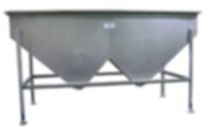 FPEC Corp. Food Processing Equipment Specialty Vacuum Feed Hopper