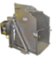 FPEC Corp. Food Processing Equipment Pivot Dumper