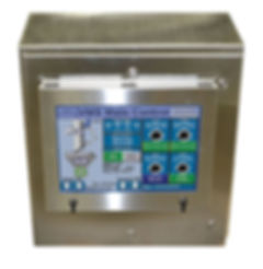 FPEC Corp. Food Processing Equipment Vacuum Metering System Automated Touch Screen Control Panel