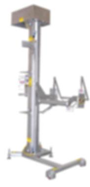 FPEC Corp. Food Processing Equipment Portable Cart Lift Dumper