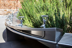 STAINLESS PUBLIC SPACE FURNITURE