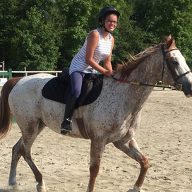 Horseback Riding Hits A High At Hill School