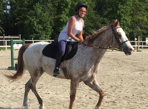 Horseback Riding Hits A High At Hill School