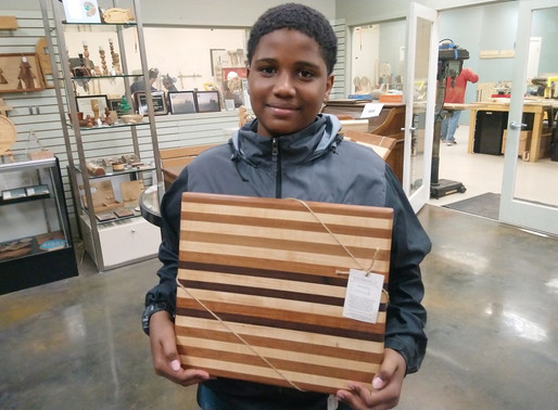 Linwood Dunston: Woodworking is fun!