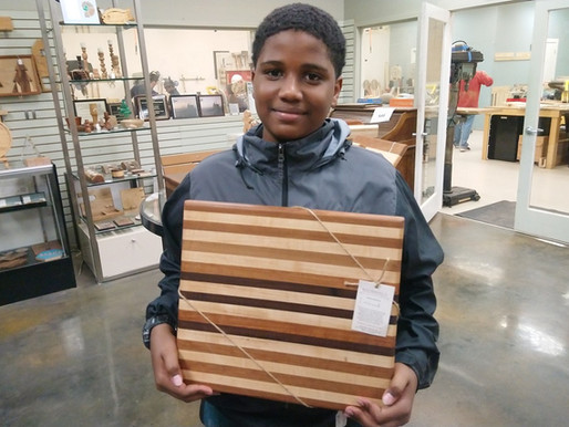 Linwood Dunston: Woodworking is fun!