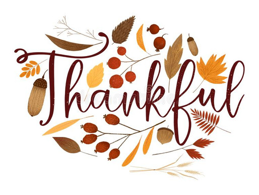 We Are So Thankful For Our Students