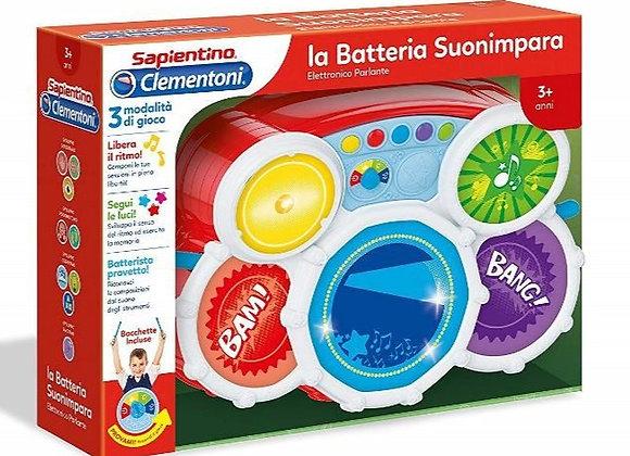 La Batteria Suonimpara di Clementoni