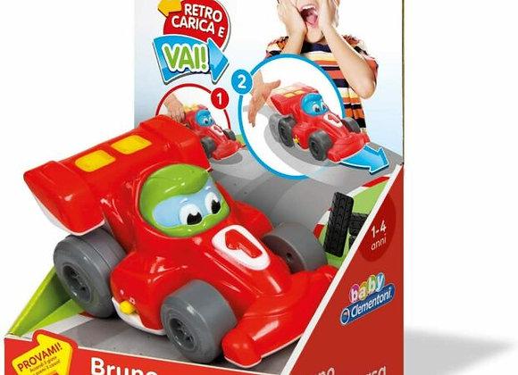Bruno auto da corsa CLEMENTONI