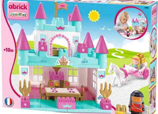 Abrick Castello della Principessa, con carrozza + 2 personaggi
