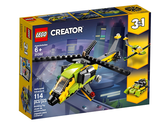 LEGO creator - 3 in 1 elicottero