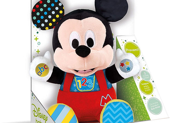 Clementoni- Disney Baby Mickey Gioca e Impara