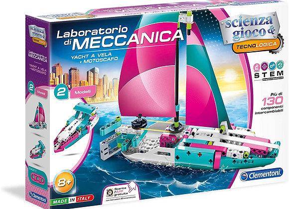 Yacht a Vela + Motoscafo Laboratorio di Meccanica CLEMENTONI