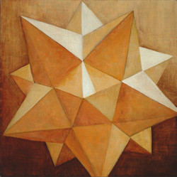 12 pointed star (yellow)