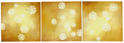 Dianthus Cloud Triptych