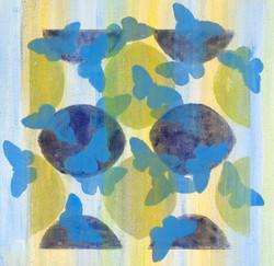 Butterfly Cloud Blue