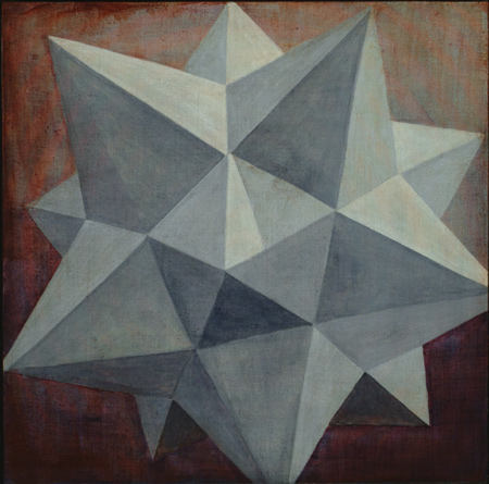 12 pointed star (blue)