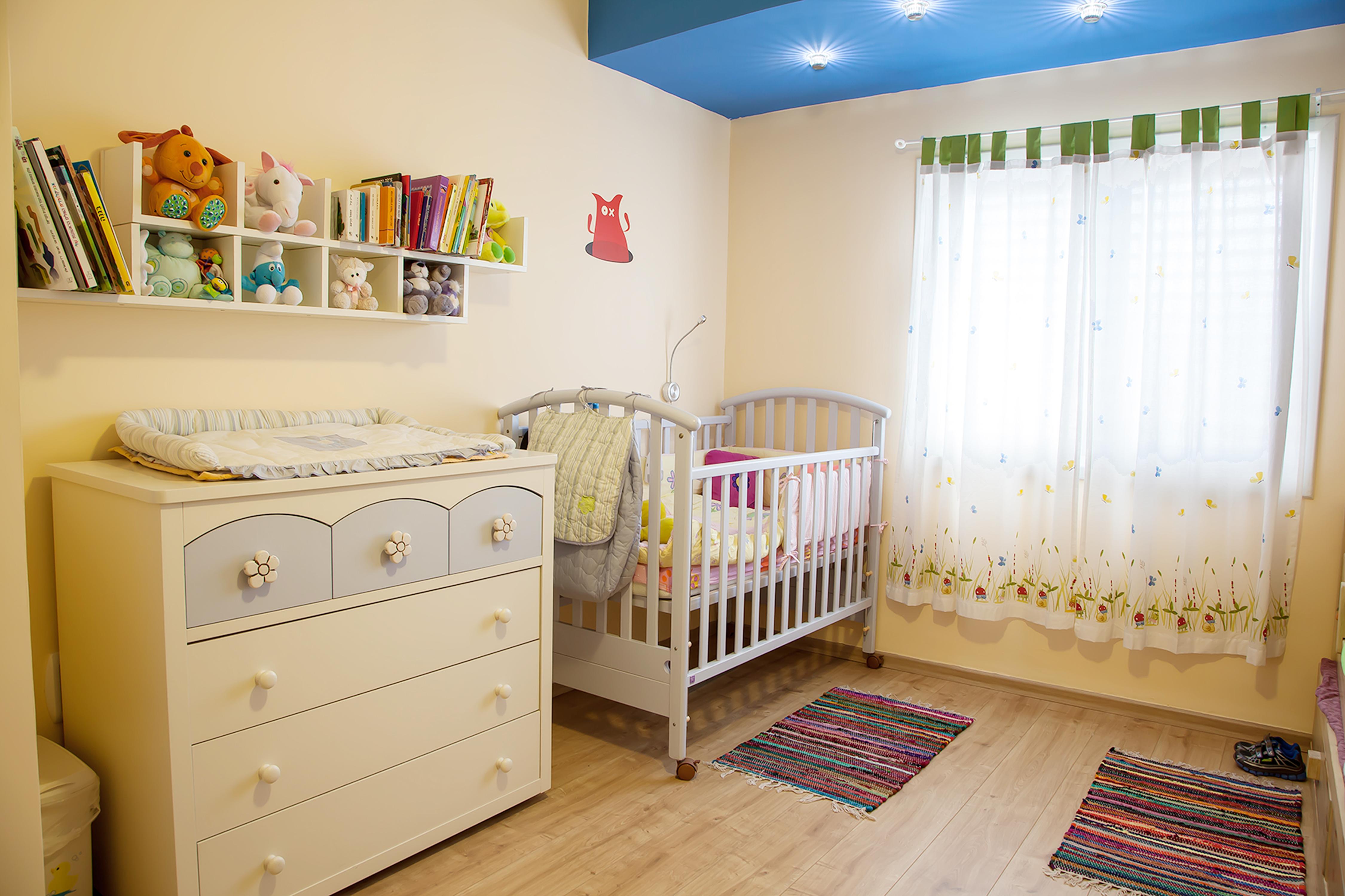 חדר לשני ילדים קטנים