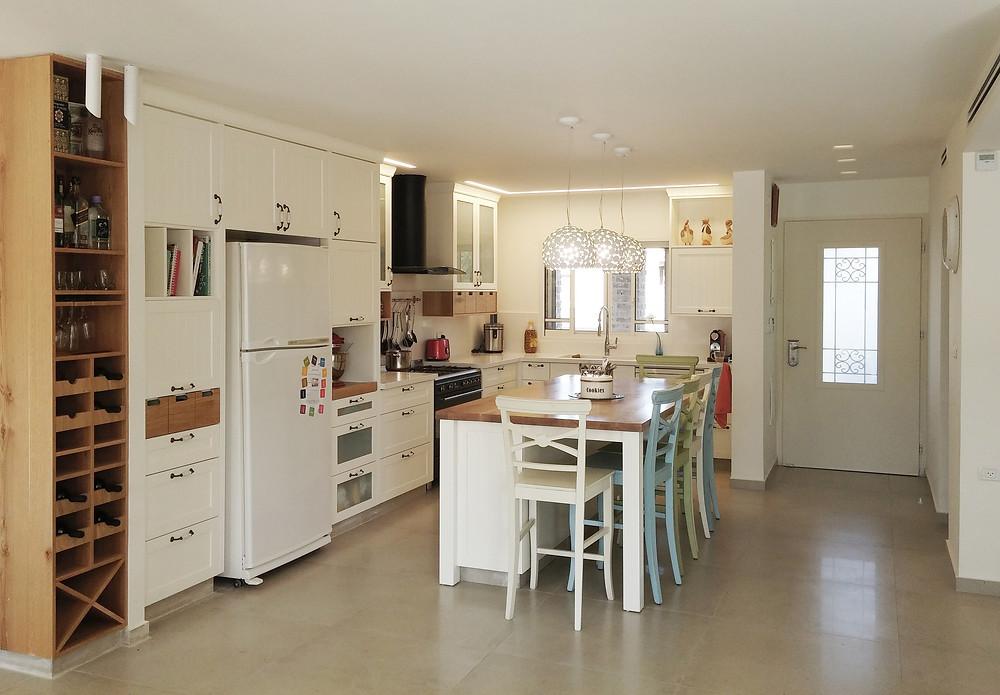 מבט כללי על המטבח ובר היינות