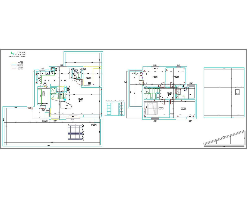 מדידת בית + גג + חצר