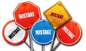 שבע טעויות של אדריכל פנים