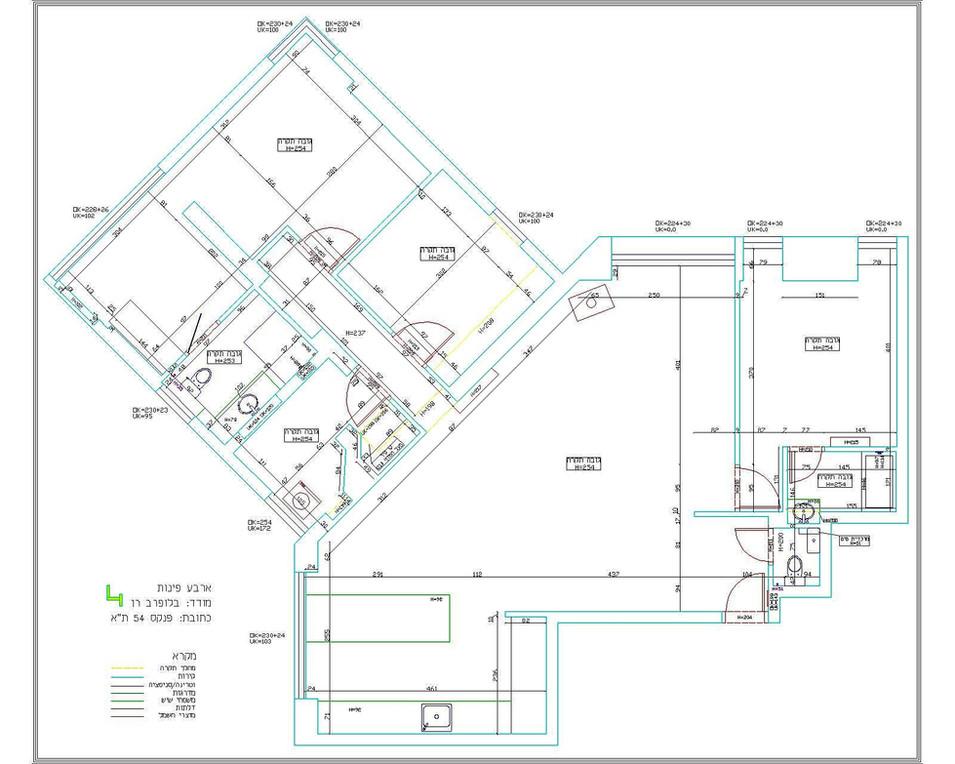 מדידה אדריכלית - סטודיו מטקה