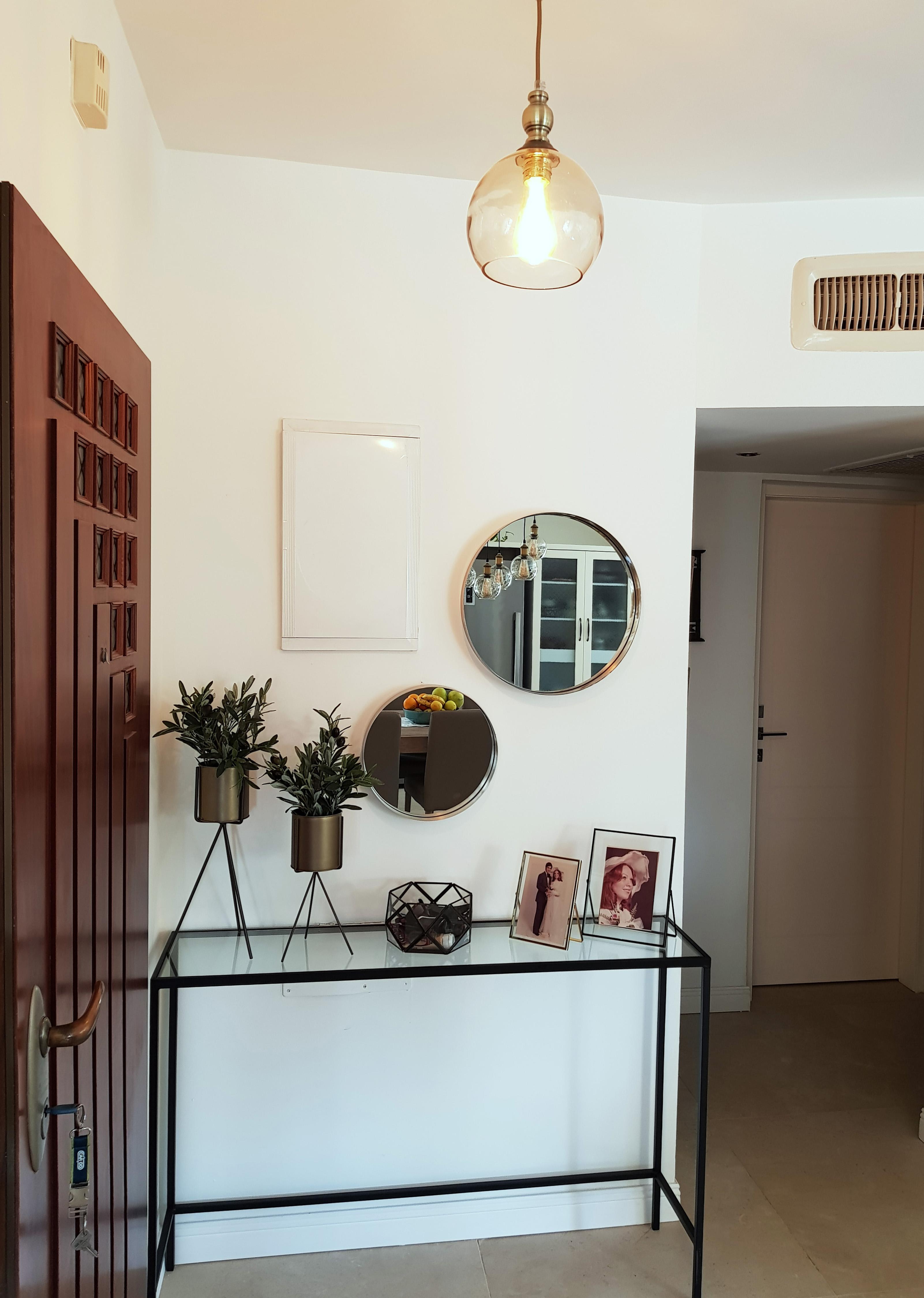 מבואת הכניסה בדירה בראשלצ