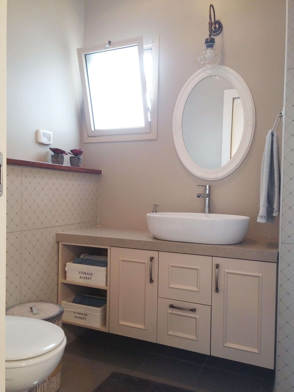 מקלחת הורים בבית בכפר יונה