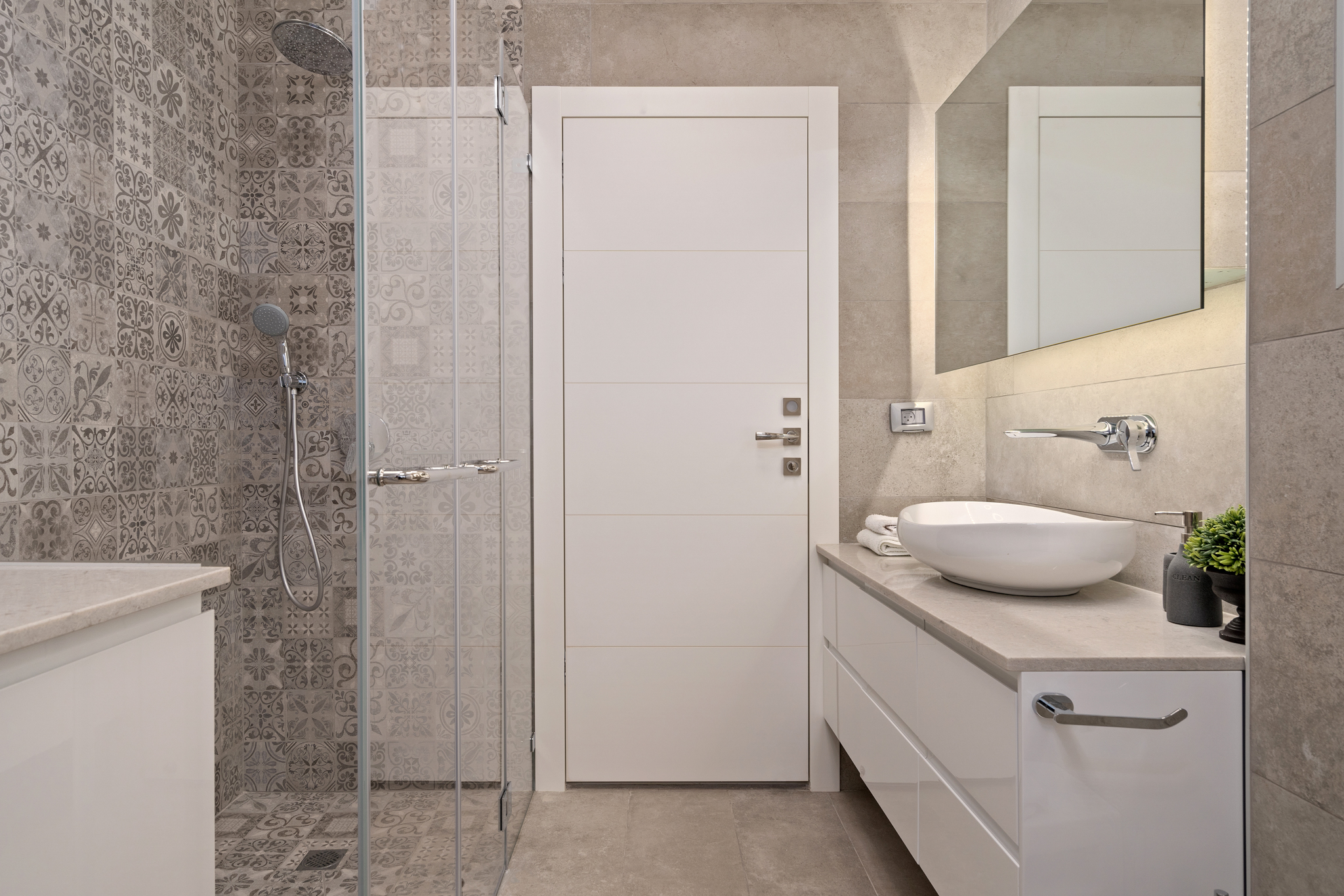 עיצוב מקלחת