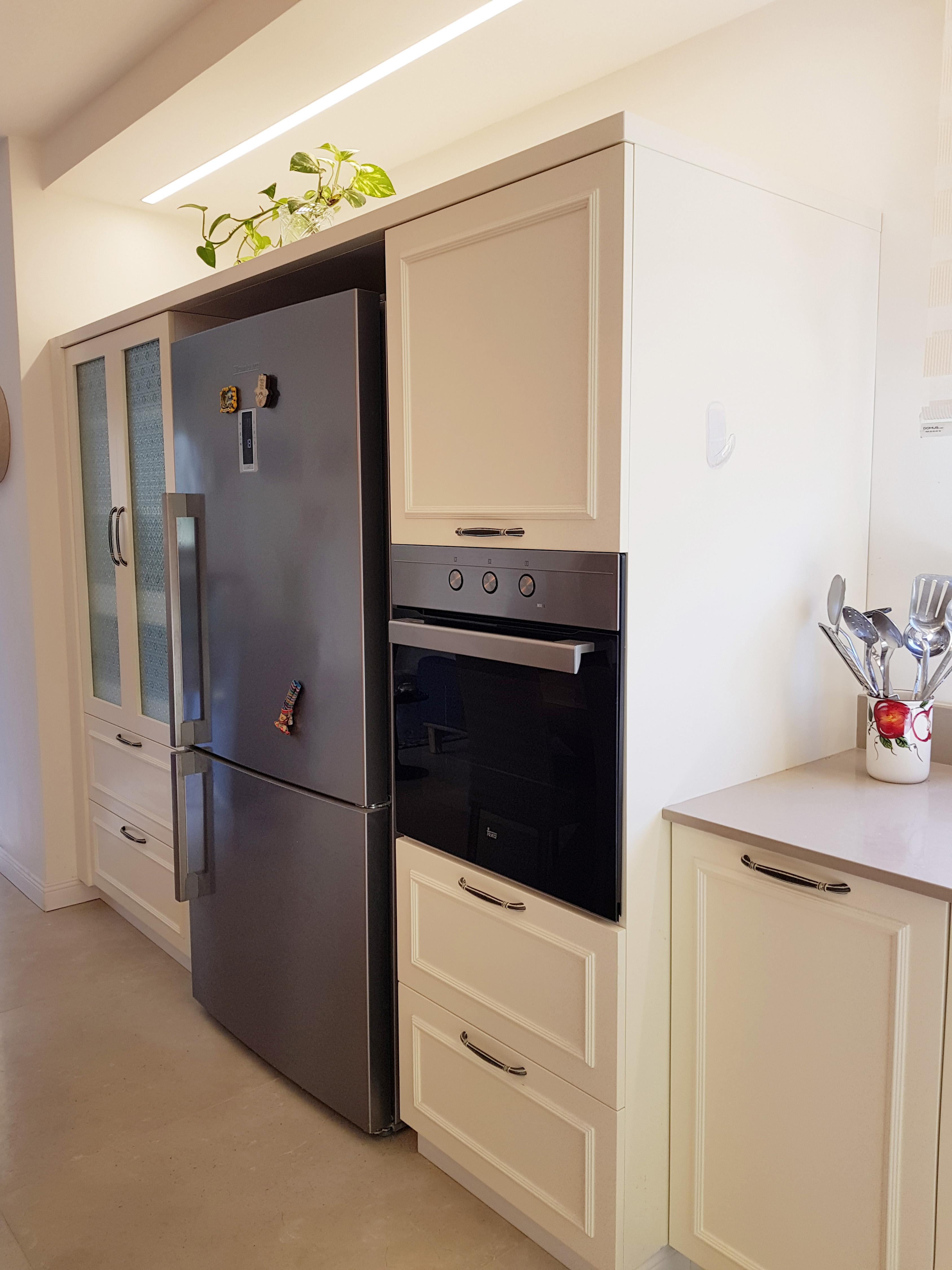 אזור המקרר במטבח