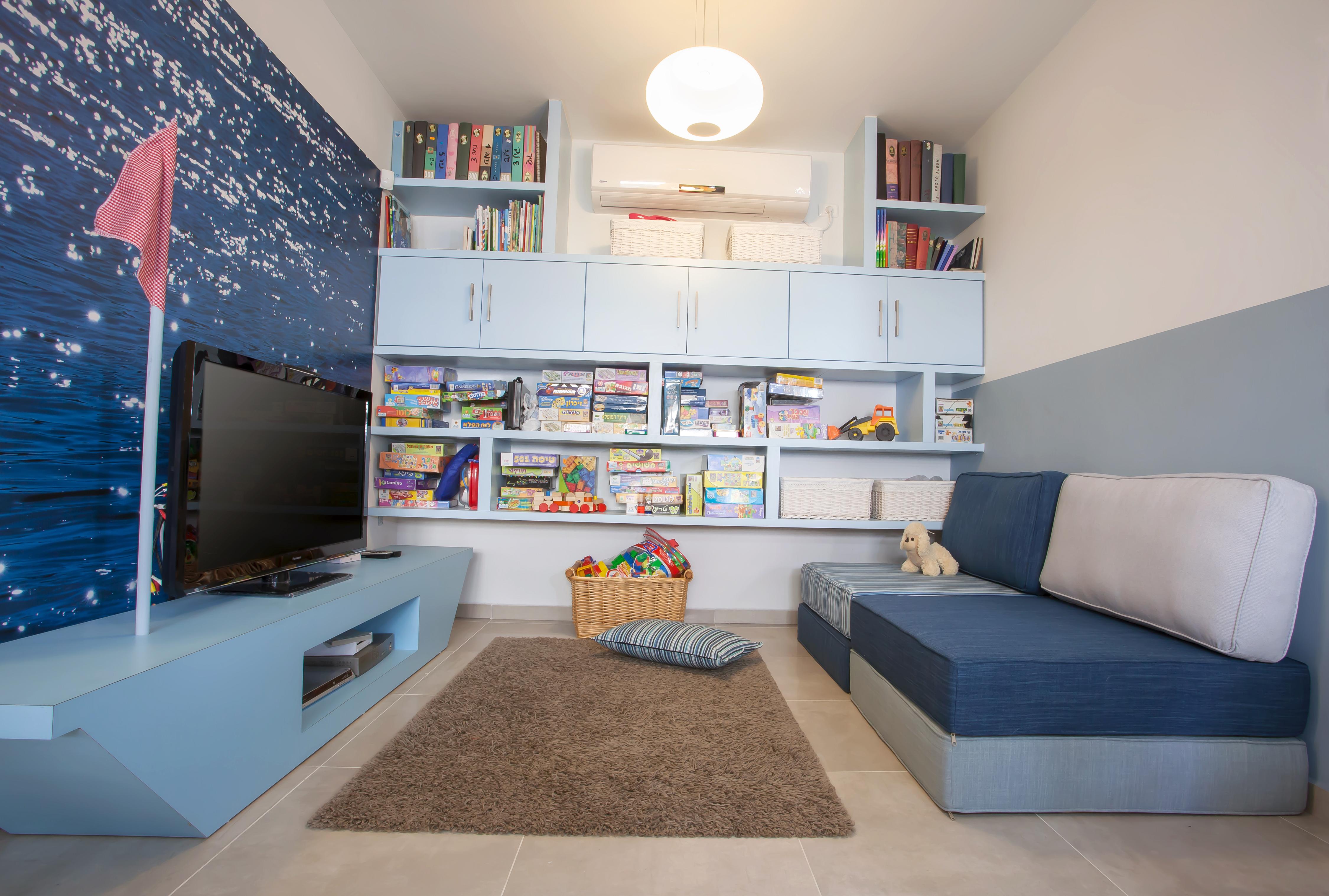 עיצוב חדר משפחה