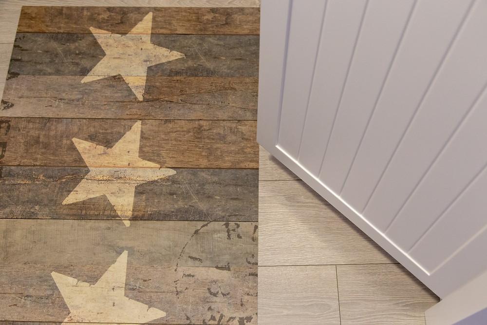 שטיח פיויסי פרקט כוכבים